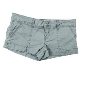 Ladies' Aeropostale Stretch Shorts Size 1/2 Gray